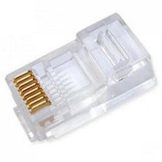 Ela Eletro Araguari CONECT.P/INFOR.RJ45 MACHO CAT.6E>8K CONECTOR FUROKAWA