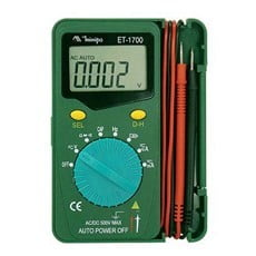 Ela Eletro Araguari MULTIMETRO DIGITAL ET-1700 MULTIMETRO MINIPA