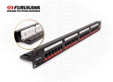 Ela Eletro Araguari PATCH PANEL GIGALAN CAT-6 T568A/B 24P>8F PATCH FUROKAWA
