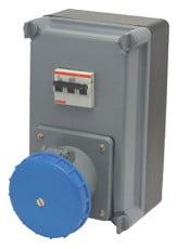 Ela Eletro Araguari UNIDADE COMB. S-906/4.63.6 3P+T 63A C/DISJ.>1E CAIXA STECK